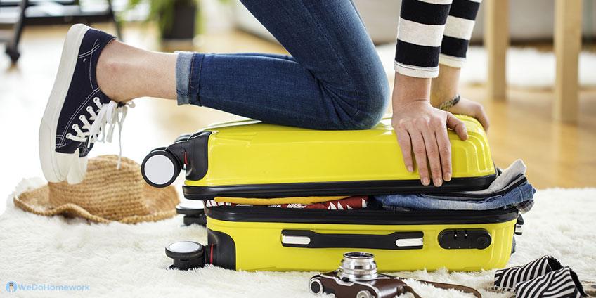 Preparing Suitcase